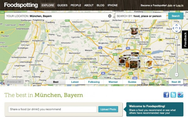 Foodspotting in München